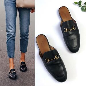 ❗️Sale❗️Gucci Princetown Leather Mule Loafer